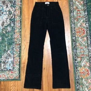 Reformation Daphne Pant in Black size 24